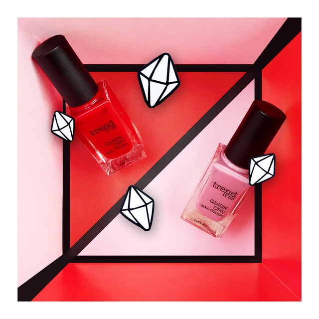 trend IT UP Quick Dry Nail Polish 020/060