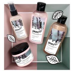 Pure97 Lavendel & Pinienbalsam Shampoo, Spülung, Maske und Creme-Öl