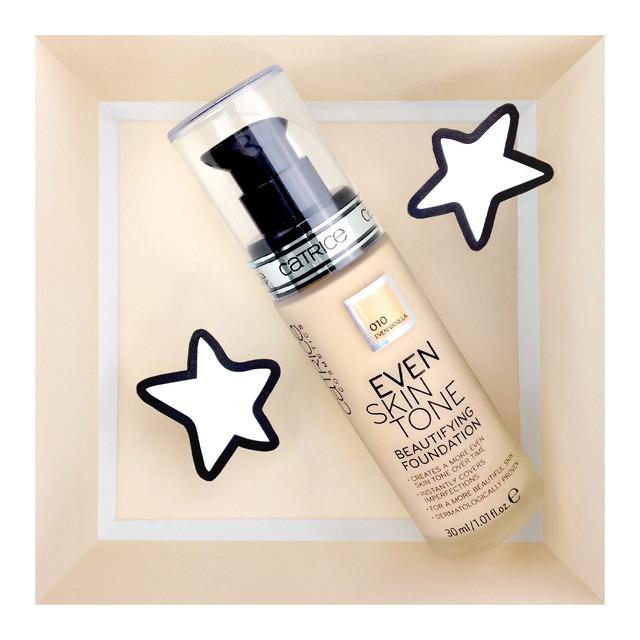 Catrice Even Skin Tone Beautifying Foundation 010 Even Vanilla