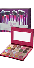Royal Affair 20 Farben Shadow Palette + Royal Affair 10-teiliges Pinselset