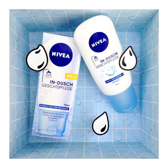 NIVEA In-Dusch Gesichtspflege