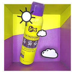 Be3 Sun Protection Progressive Spray (LSF 20/30/50) Basic Skin