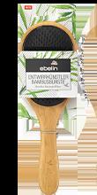 Entwirrbürste Bambus mit Griff