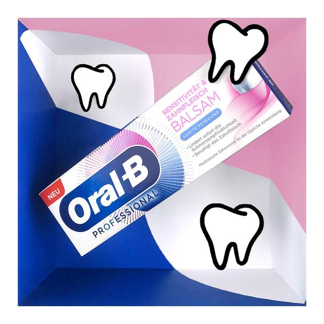 Oral-B Sensitivität und Zahnfleischbalsam Sanfte Reinigung