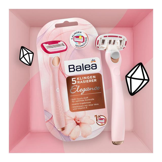 Balea 5-Klingen Rasierer Elegance