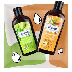 tetesept tetesept Formula Aroma-Duschen Orange & Jasmin und Limette & Zitronengras