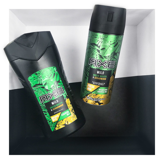 AXE Bodyspray Wild Green Mojito & Cedarwood 150ml