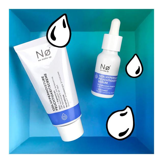 Nø 120h Feuchtigkeitsduo (Creme + Serum)