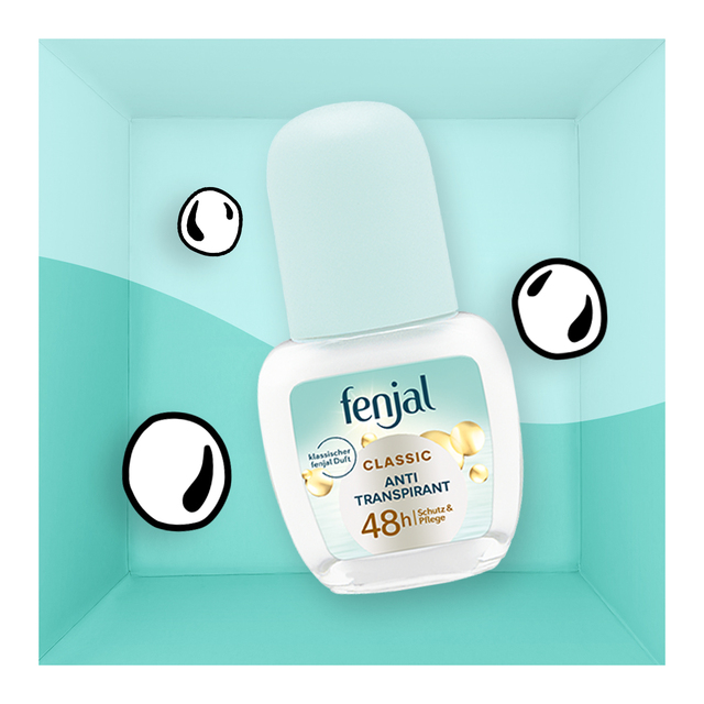 fenjal Roll On Antitranspirant CLASSIC 48h, 50 ml