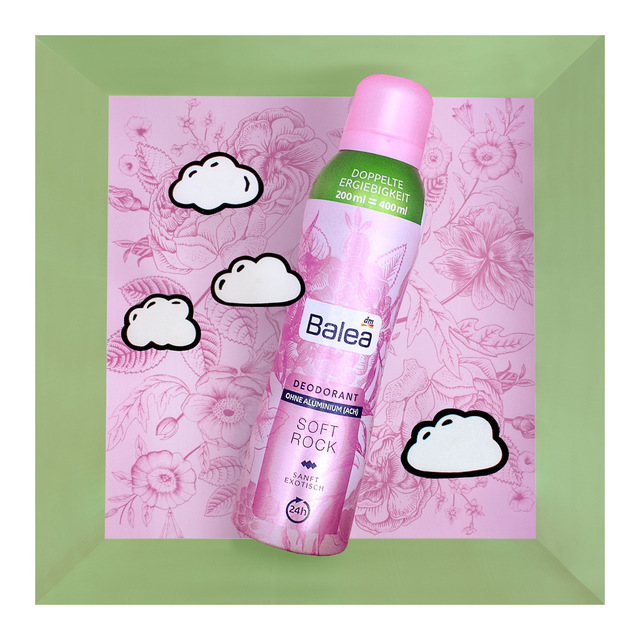 Balea Deodorant Soft Rock